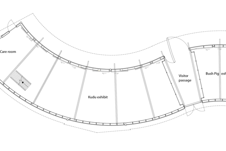 Kudu stable Blijdorp_plan view